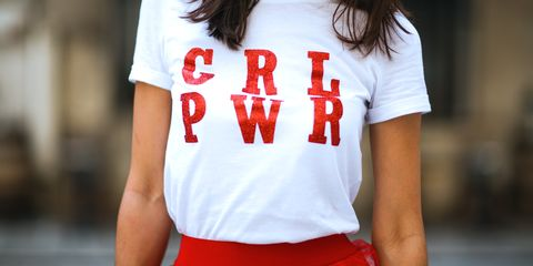 T-shirt, Clothing, White, Red, Top, Font, Neck, Sleeve, Muscle, Outerwear,
