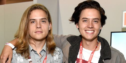 Cole Sprouse Gave Dylan A Giant Picture Of A Penis For -5949