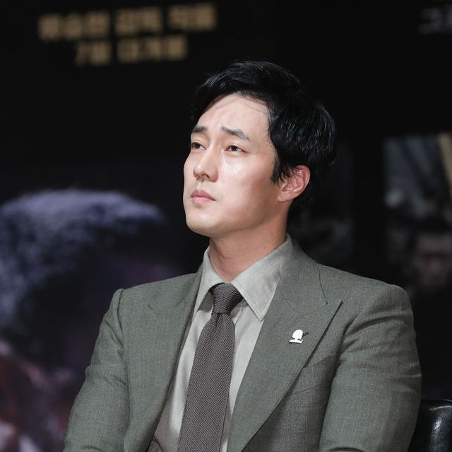"""""""The Battleship Island"""" Press Conference In Seoul"""