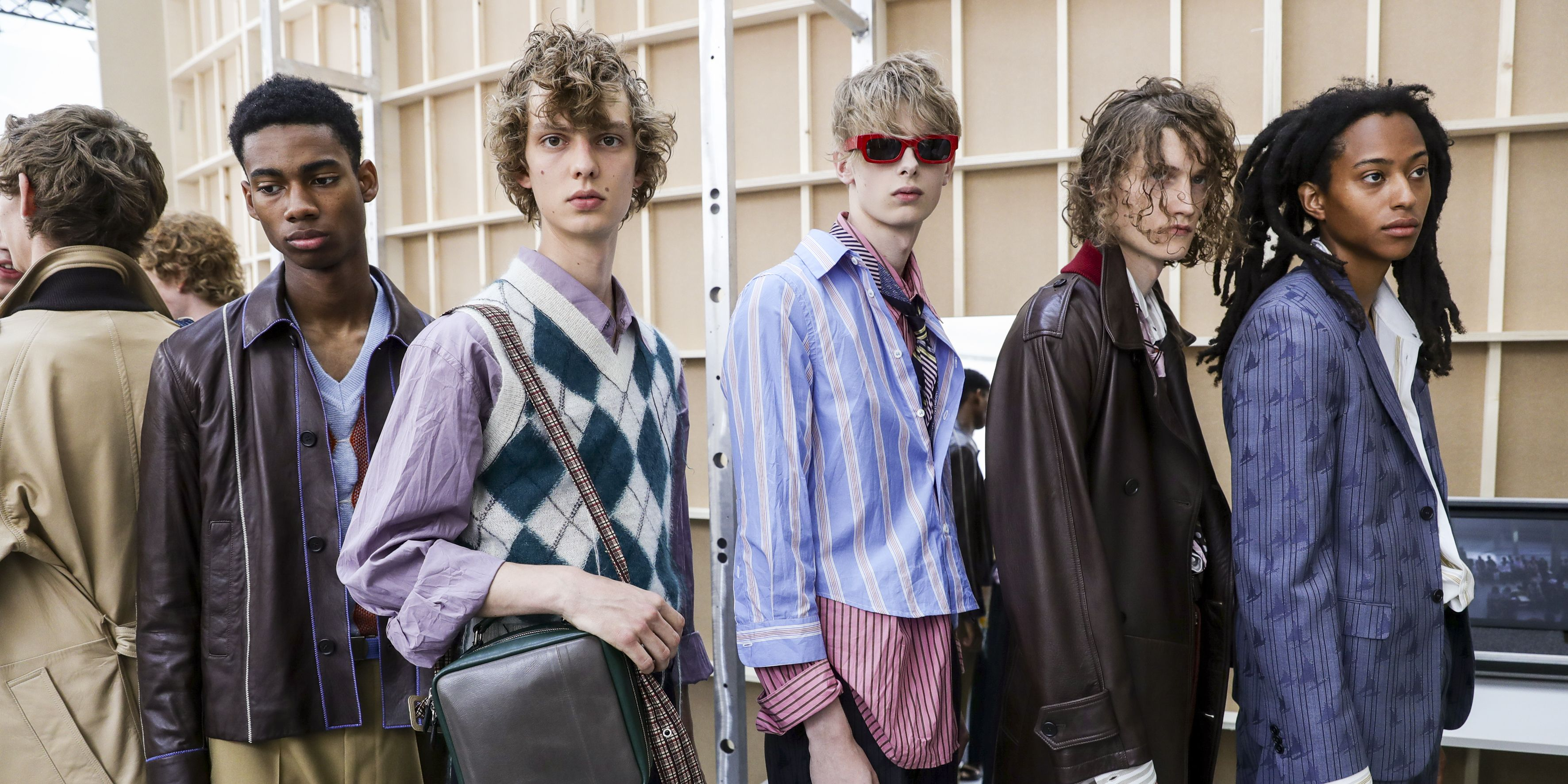 Marni - Backstage - Milan Men's Fashion Week Spring/Summer 2018