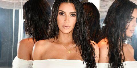 Kim Kardashian mirror