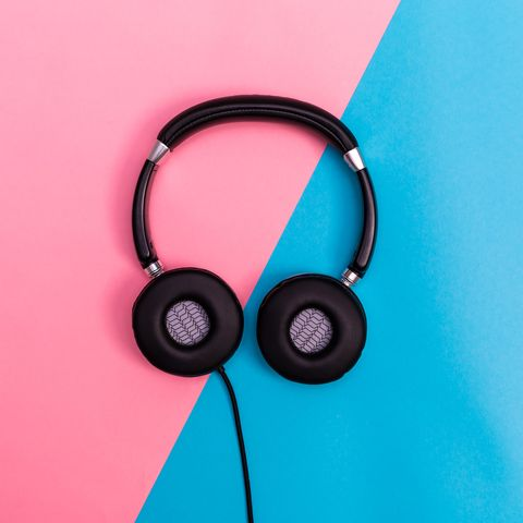 Headphones, Audio equipment, Pink, Gadget, Technology, Audio accessory, Electronic device, Headset, Fashion accessory, Ear,