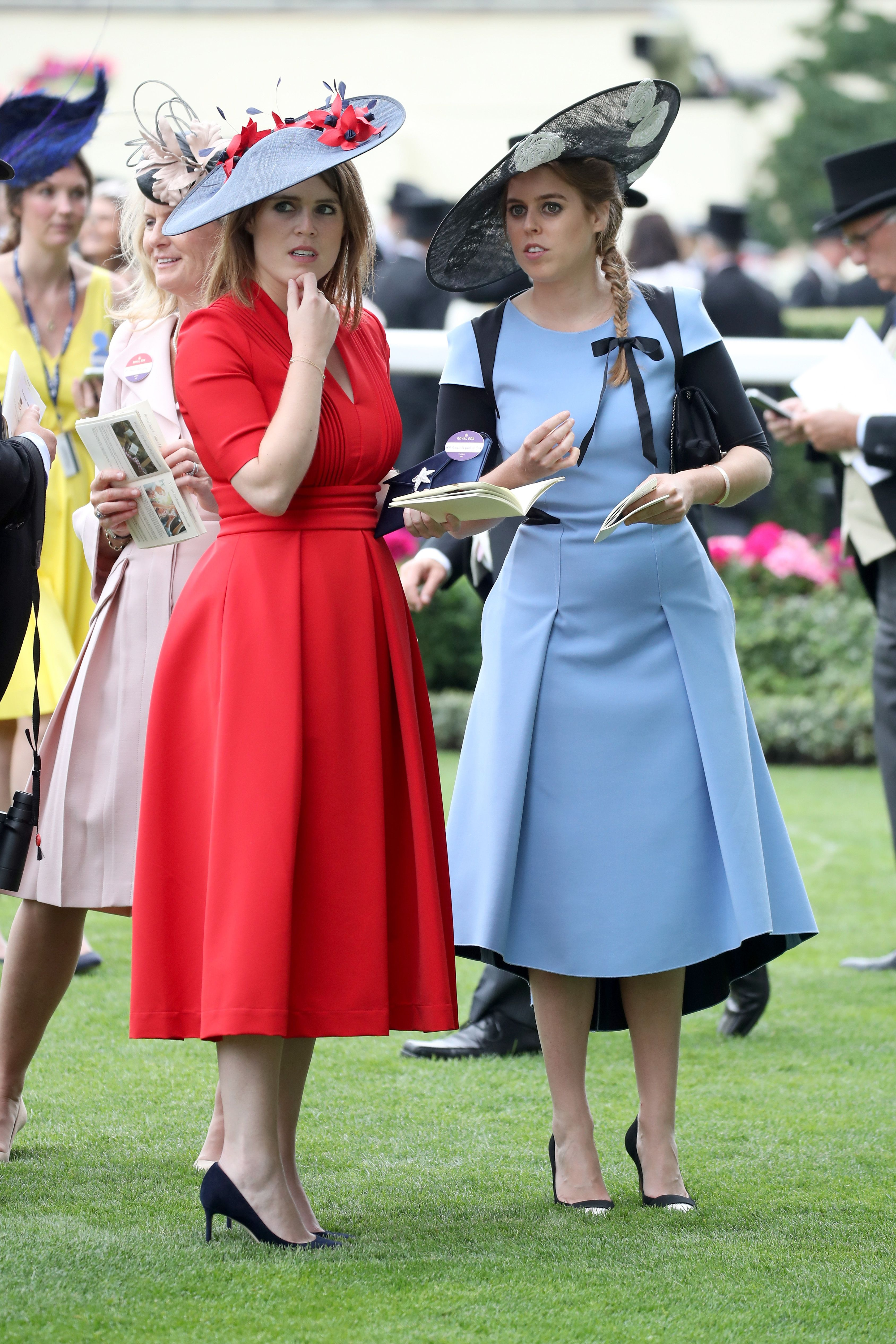Princess Eugenie and Princess Beatrice Could Step in for Meghan and Harry