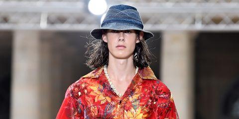 cf20a815e Louis Vuitton Men's Spring 2018 Collection Brings Hawaii to Paris