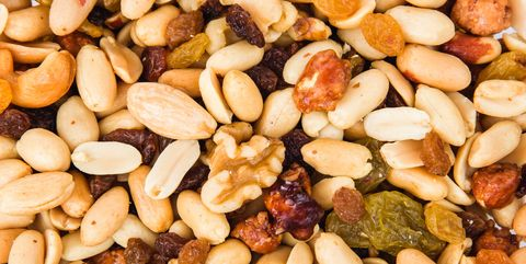 Full Frame Shot Of Various Dried Fruits For Sale
