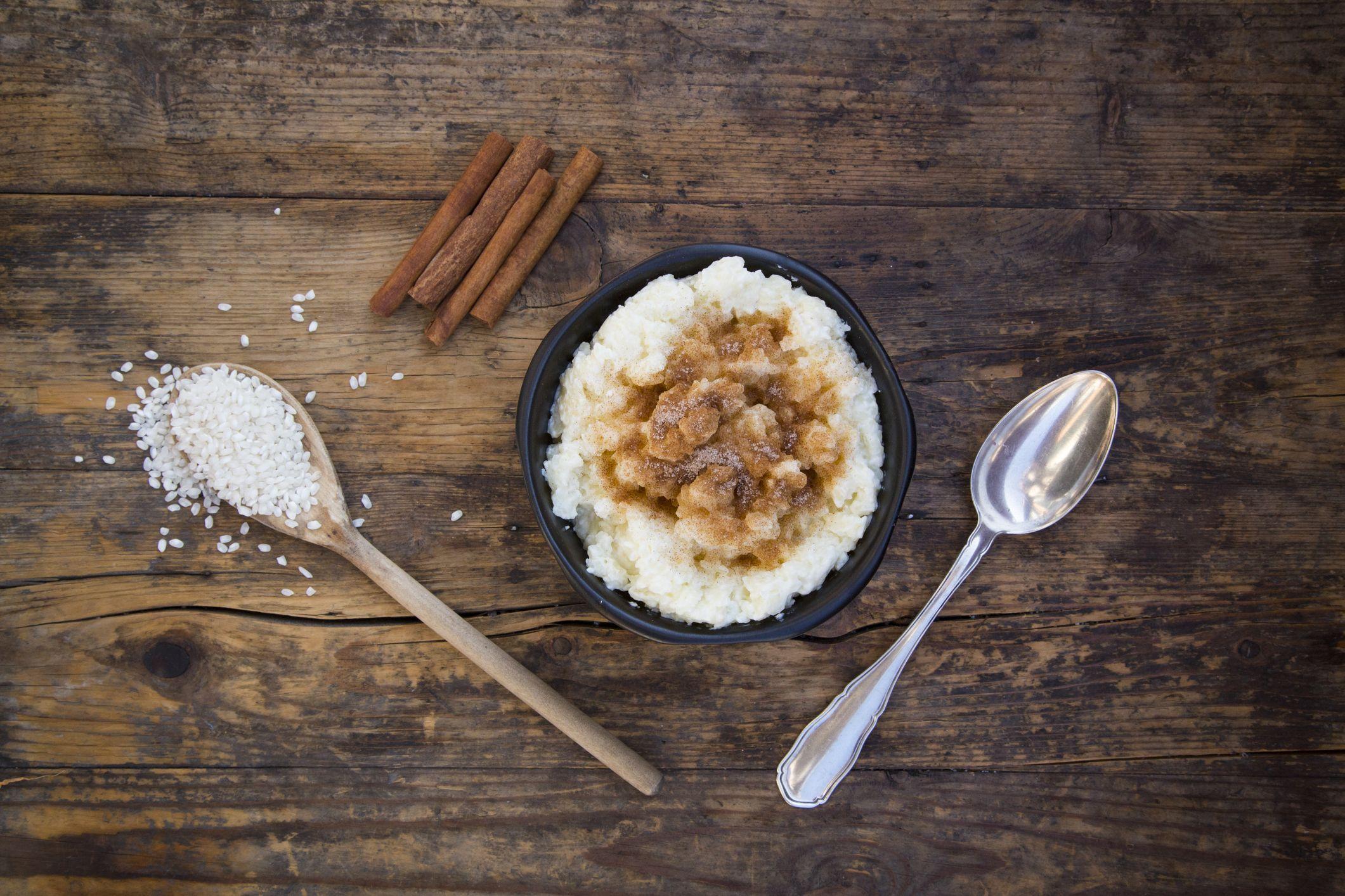 Il trucco per fare il riso al latte dolce squisito e rapidissimo (il dessert più leggero che c'è)