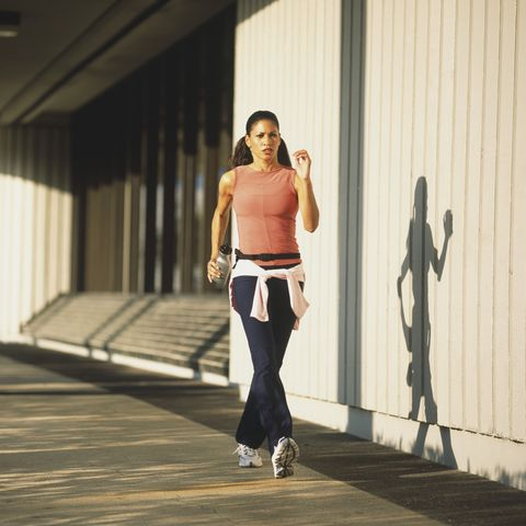 Study suggests running with bent arms doesn't make a difference to performance