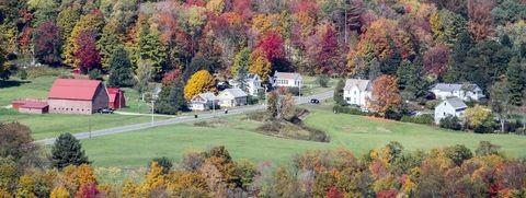 Leaf, Tree, Autumn, Natural landscape, Biome, Home, House, Rural area, Farm, Plant,