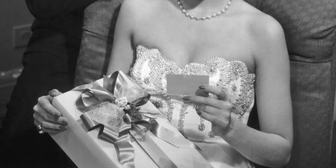 Photograph, Facial expression, Snapshot, Black-and-white, Smile, Formal wear, Event, Dress, Monochrome photography, Happy,