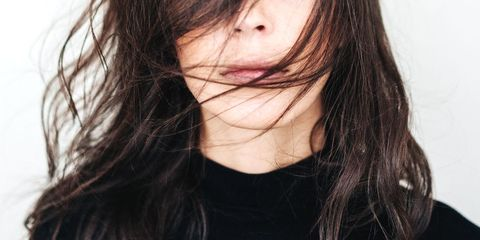 Hair, Face, Hairstyle, Lip, Eyebrow, Brown hair, Chin, Skin, Nose, Beauty,