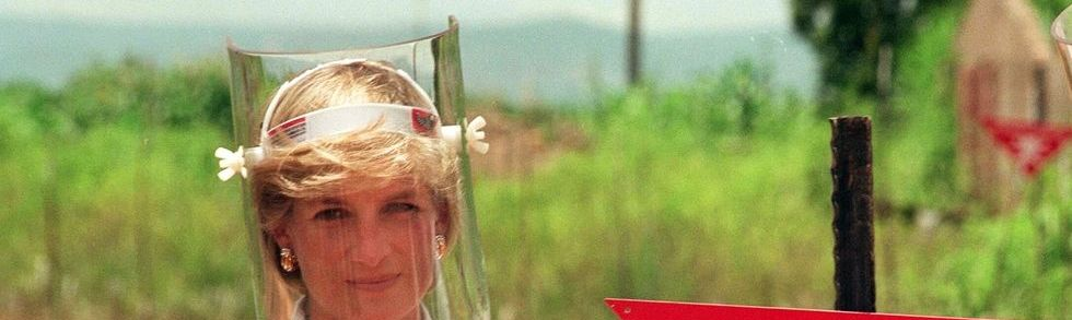 princess diana minefield