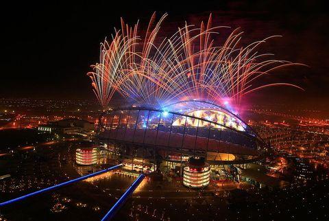 WK Atletiek in Khalifa International Stadium Doha 2019