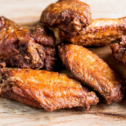 Food, Dish, Fried food, Cuisine, Ingredient, Chicken meat, Meat, Buffalo wing, Barbecue chicken, Produce,