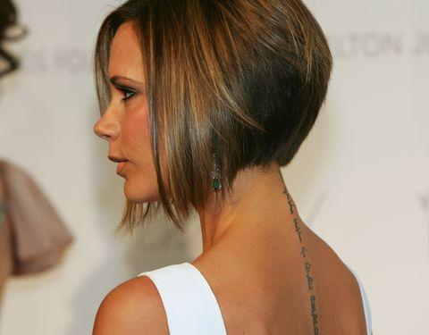 Hair, Hairstyle, Bob cut, Chin, Shoulder, Layered hair, Brown hair, Hair coloring, Long hair, Blond,