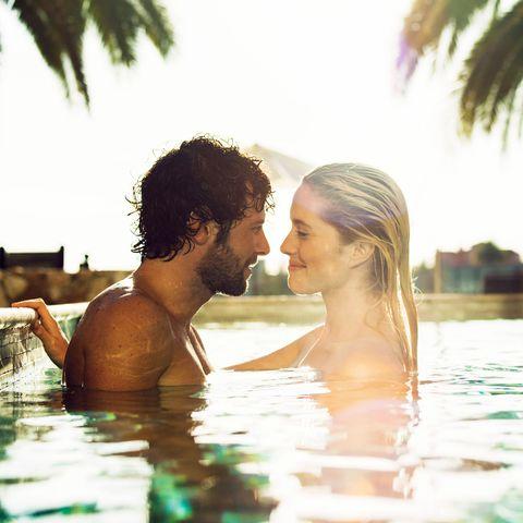 People in nature, Honeymoon, Vacation, Romance, Fun, Leisure, Swimming pool, Summer, Water, Love,