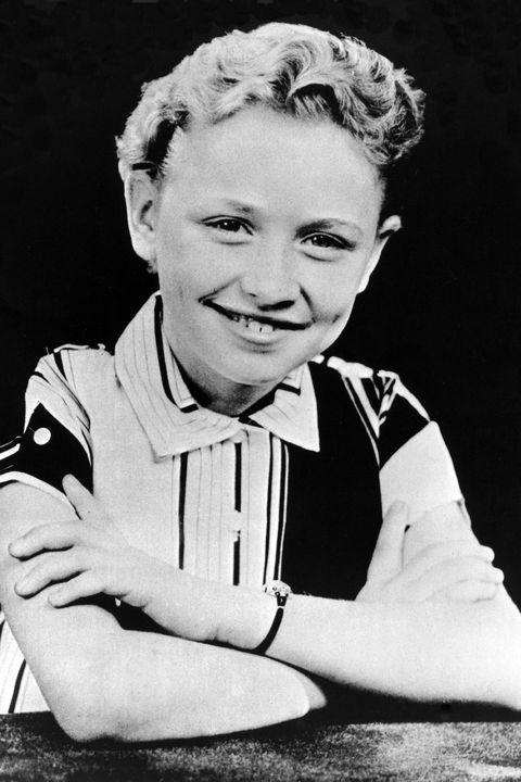 Portrait, Child, Black-and-white, Retro style, Smile, Photography, Sitting, Child model, Monochrome, Style,