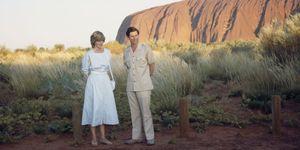 Charles And Diana At Uluru