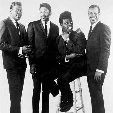 new york   1958 l r will dub jones, carl gardner, cornell gunter and billy guy of the coasters pose for a portrait in new york city, new york in 1958 photo by michael ochs archivesgetty images