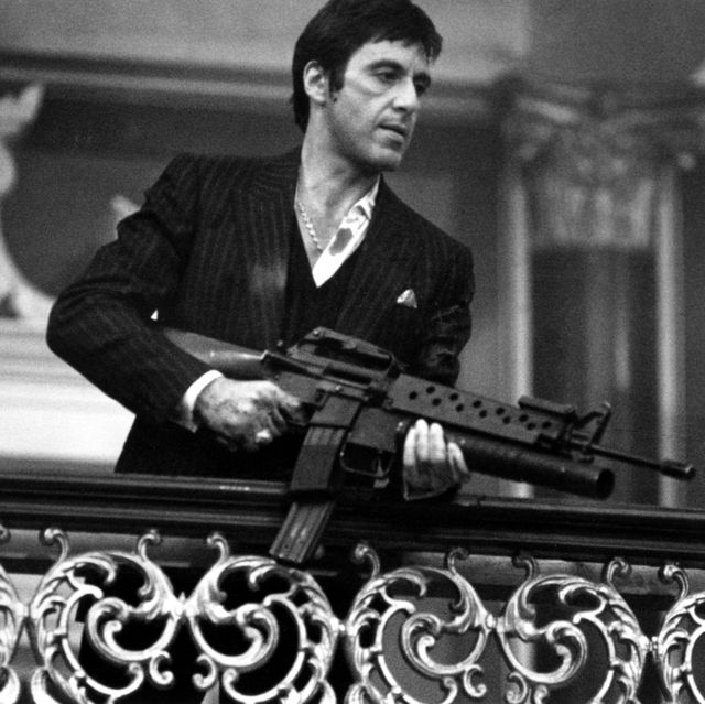 1983  actor al pacino stars in scarface  photo by michael ochs archivesgetty images