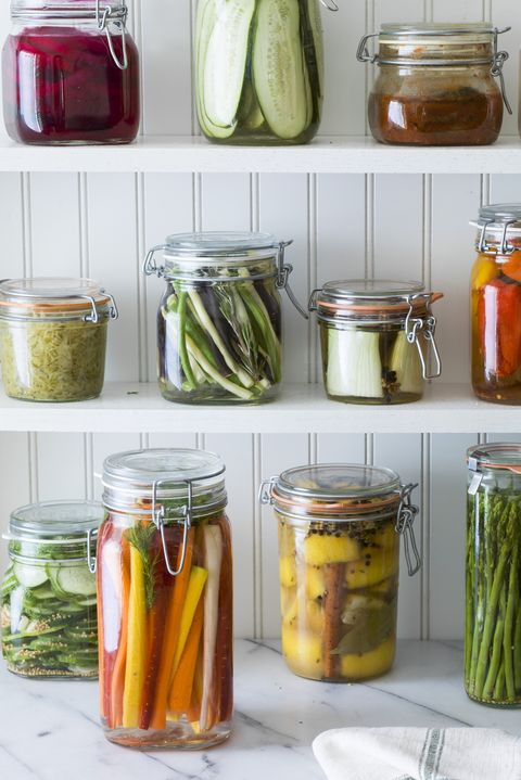 Pickling, Preserved food, Mason jar, Canning, Food, Achaar, Tursu, Vegetable, Vegetable juice, Cucumber,