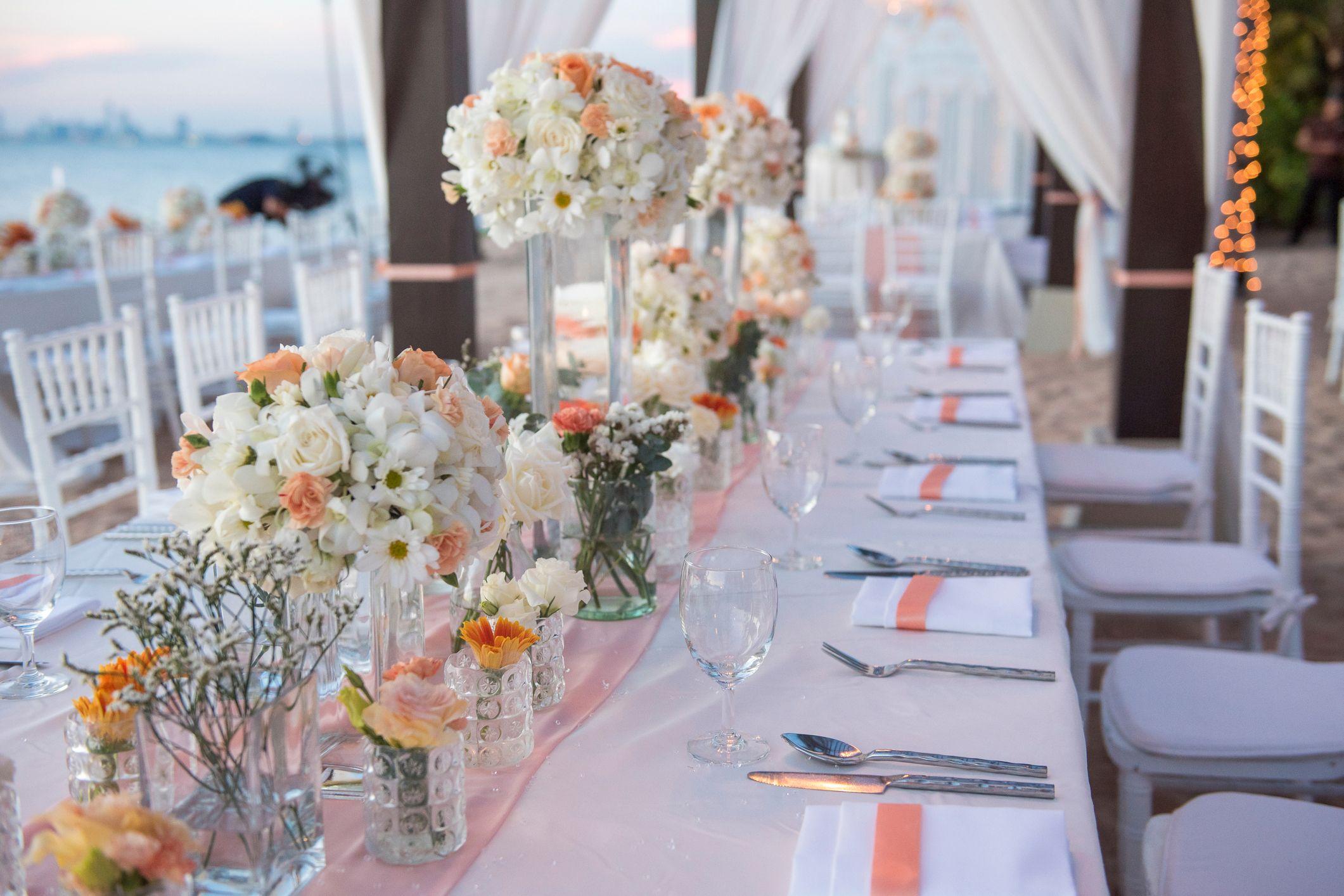 Centrotavola Matrimonio Tema Dolci : Matrimonio a tema living coral il colore pantone dell anno