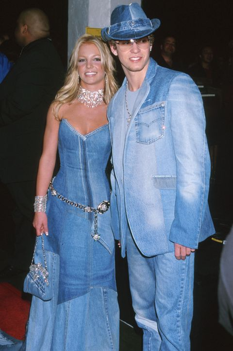 britney spears  justin timberlake of nsync at the shrine auditorium in los angeles, ca photo by jeffrey mayerwireimage