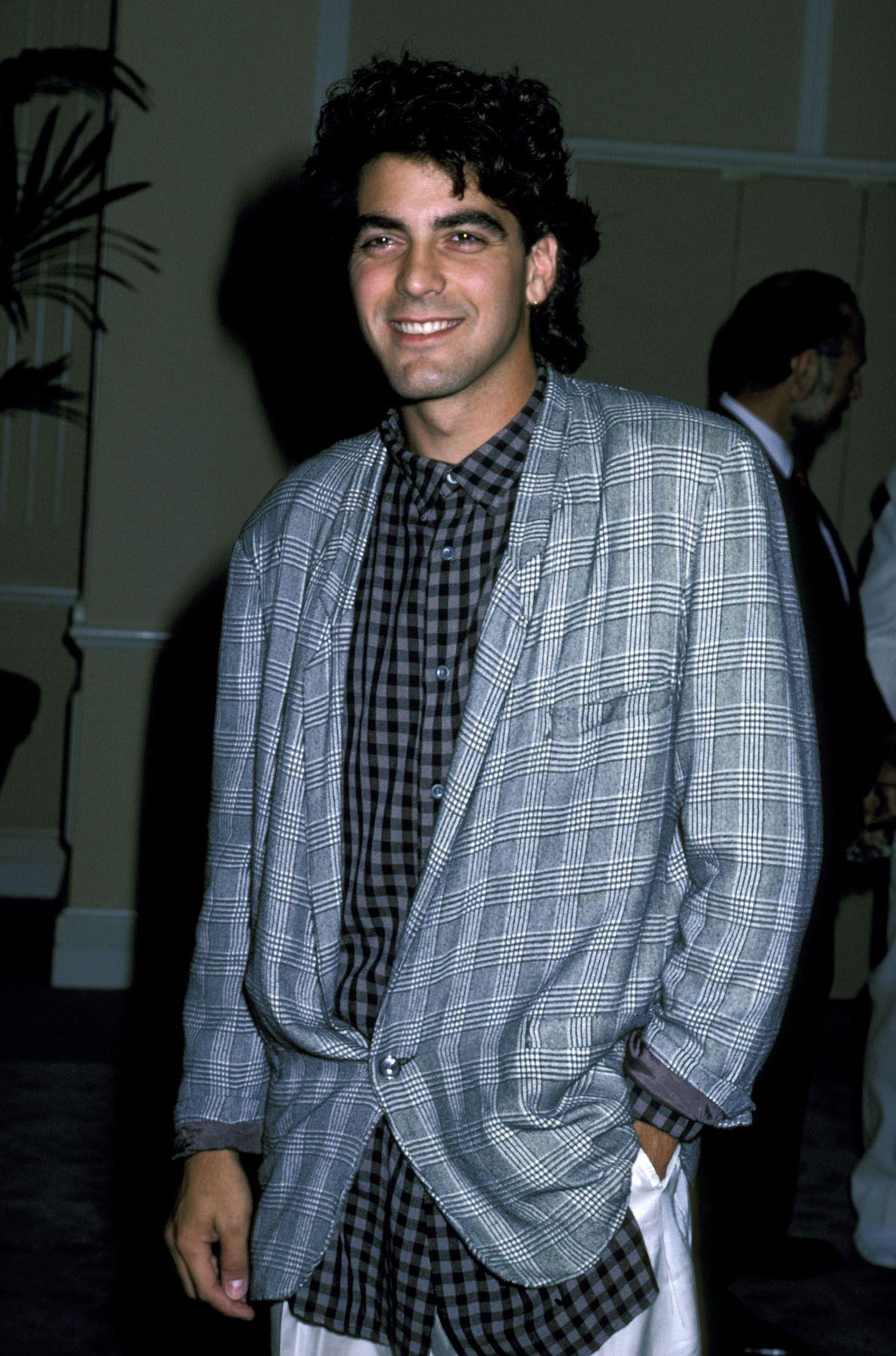 Clooney at the Beverly Hilton Hotel in Beverly Hills in 1986.