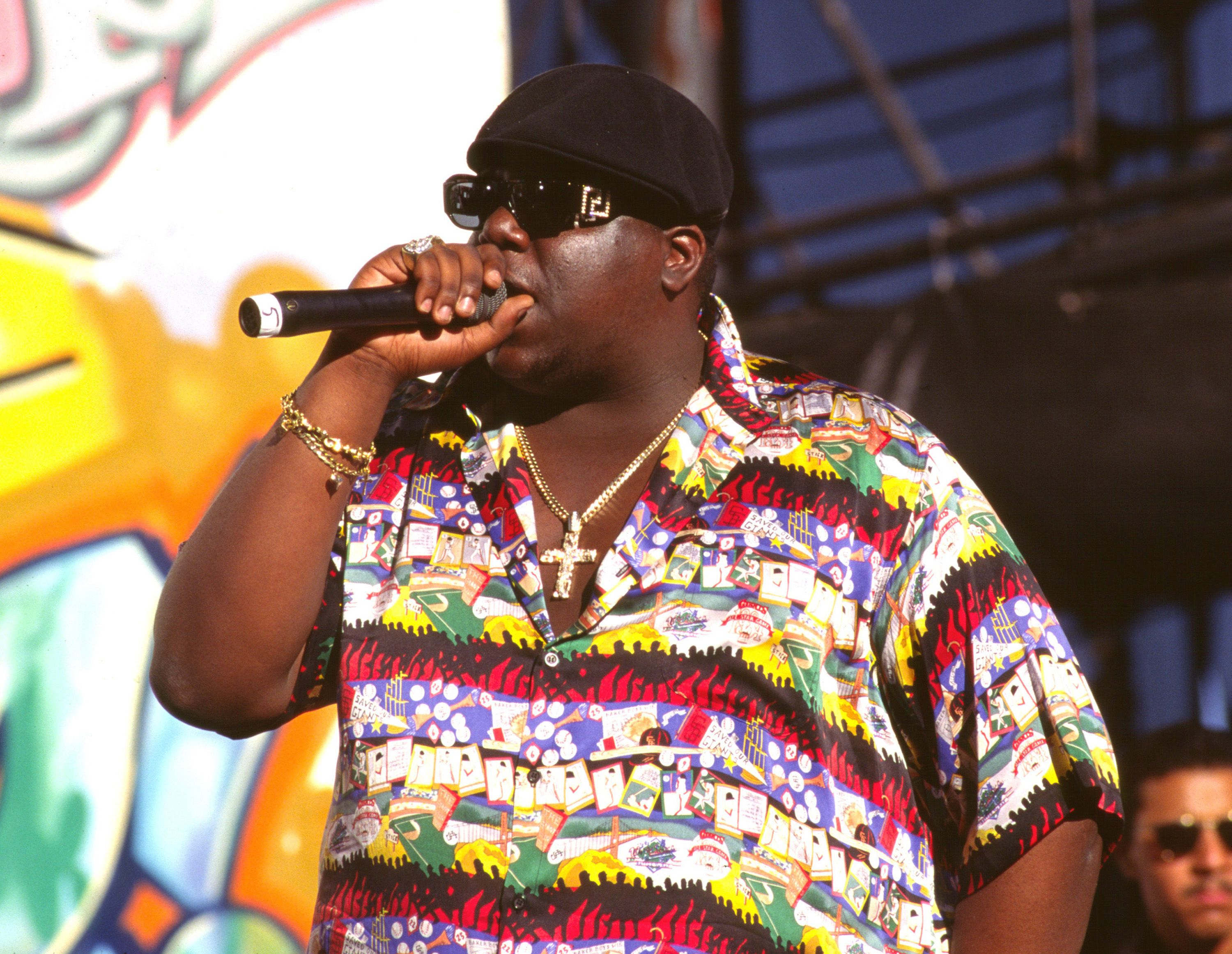 a5ec74aa9c23a Notorious B.I.G. s Iconic Versace Sunglasses Are Finally Back (But Not For  Long)