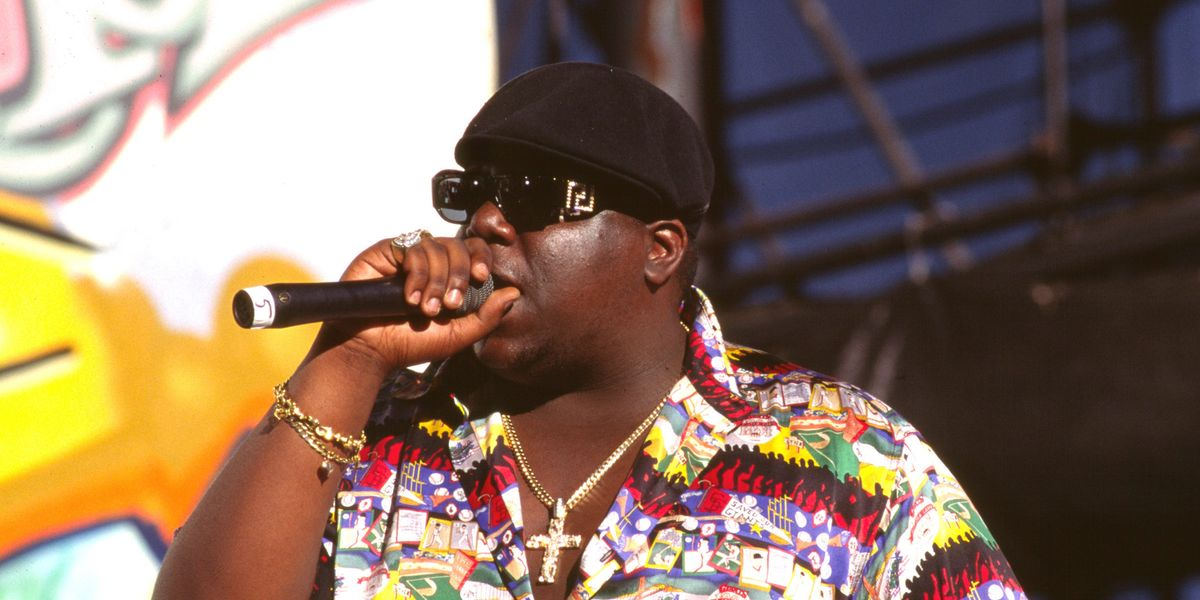 39462d0fac08 Notorious B.I.G.'s Iconic Versace Sunglasses Are Finally Back (But Not For  Long)