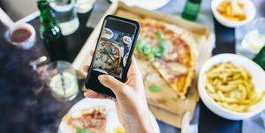 Instagram, food pictures