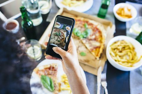 Why posting pictures of your food on Instagram could be
