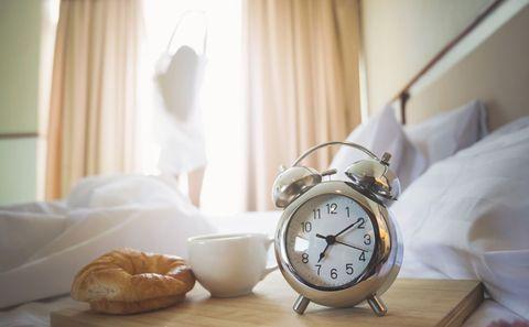 Alarm clock, Clock, Morning, Room, Watch, Home accessories, Still life, Furniture, Interior design, Still life photography,