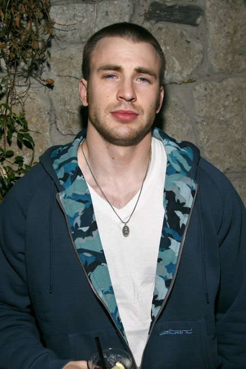 13 photos of chris evans style transformation through the years