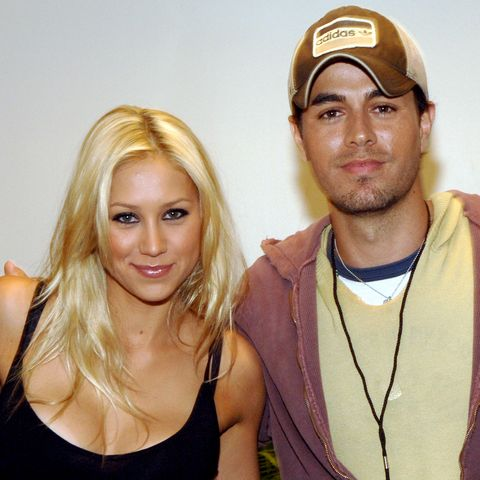 "Enrique Iglesias and Anna Kournikova First Met on the Set of His ""Escape"" Music Video"