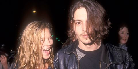 Best Paparazzi Moments 90s Johnny Depp Kate Moss