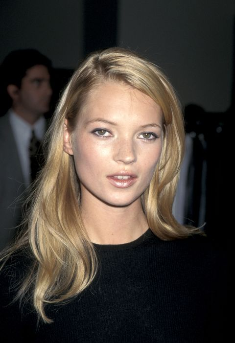 kate moss at the saks fifth avenue store in beverly hills, california photo by jim smealron galella collection via getty images