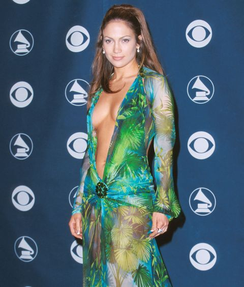 e955f8ad5bed Jennifer Lopez Almost Didn t Wear Versace Dress to the 2000 Grammys