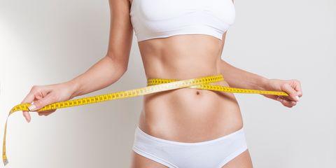 Abdomen, Waist, Trunk, Thigh, Undergarment, Tape measure, Joint, Leg, Briefs, Stomach,