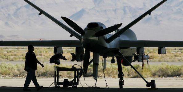 reaper drone nevada