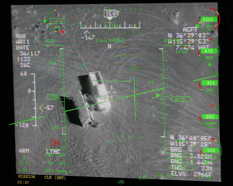 Reaper Aircraft vuela sin piloto de Creech AFB
