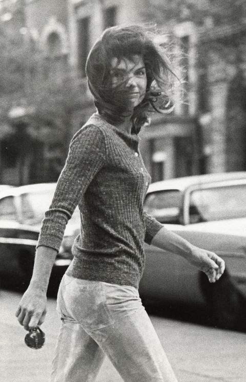 Voir Jackie Onassis sur Madison Avenue à New York - 7 octobre 1971