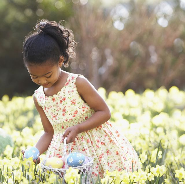 People in nature, Child, People, Happy, Flower, Plant, Spring, Smile, Toddler, Fun,
