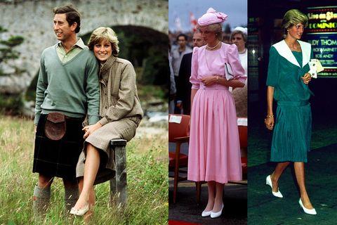 One-piece garment, Bag, Vintage clothing, Day dress, Handbag, Turban, Foot, Television, A-line, Sandal,