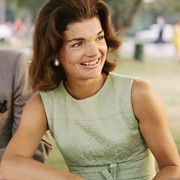 circa 1960s  former first lady jacqueline kennedy enjoys herself at a picnic circa the 1960s  photo by michael ochs archivesgetty images
