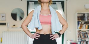 home workouts, women's health uk