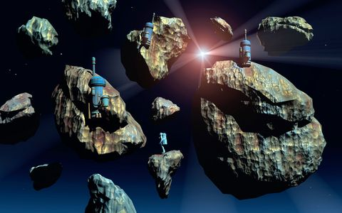 Rock, Space, Organism, World, Astronomical object, 3d modeling, Earth, Mineral, Spacecraft,