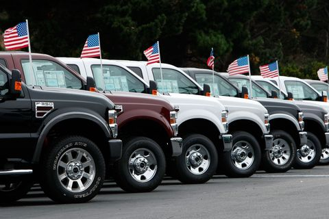 US Automakers Report August Sales