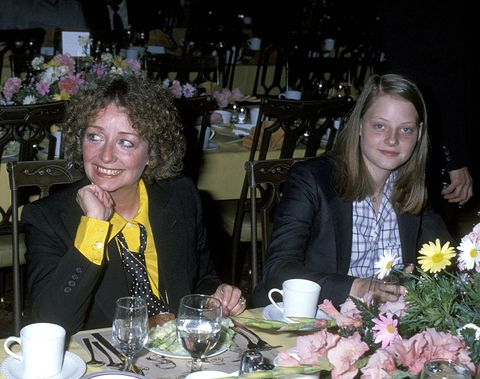 evelyn foster and jodie foster photo by ron galellaron galella collection via getty images