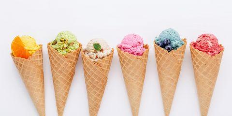 Ice cream cone, Cone, Frozen dessert, Food, Ice cream, Dessert, Soft Serve Ice Creams, Sorbetes, Gelato, Dairy,