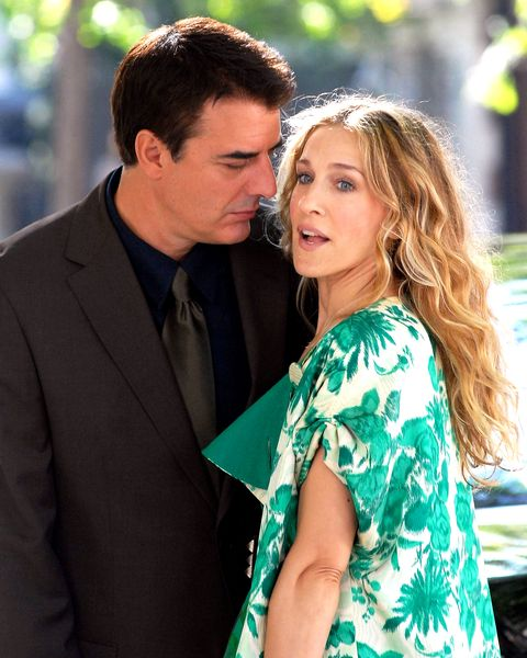 """Sarah Jessica Parker and Chris Noth on Location for """"Sex and the City: The Movie"""" - September 19, 2007"""